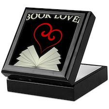 Book Lovers Stuff Logo Keepsake Box