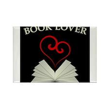 Book Lovers Stuff Logo Rectangle Magnet