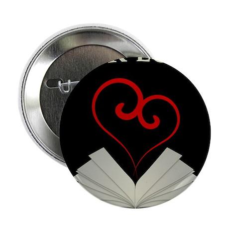 """Book Lovers Stuff Logo 2.25"""" Button"""