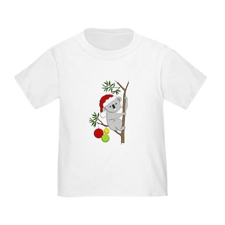 Australian Christmas Koala Toddler T-Shirt