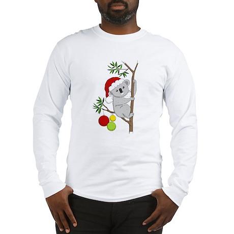 Australian Christmas Koala Long Sleeve T-Shirt
