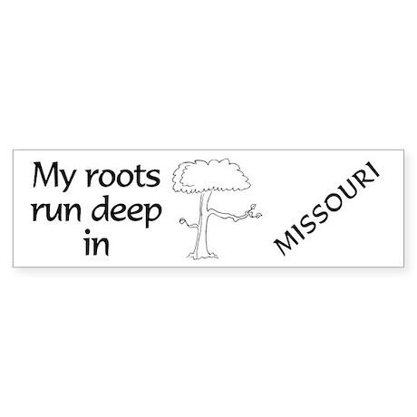 Missouri Roots Bumper Sticker