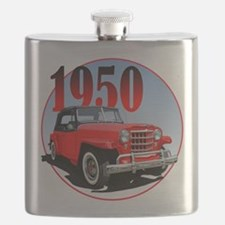 1950 Redjeepster Flask