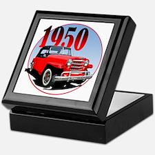 1950 Redjeepster Keepsake Box