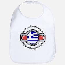 Greece Boxing Bib