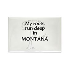 Montana Roots Rectangle Magnet