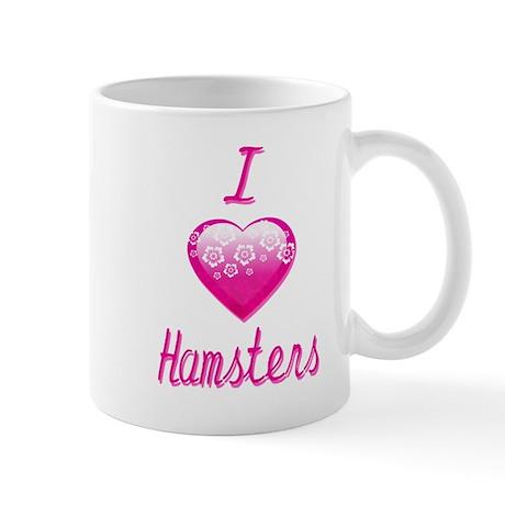 I Love/Heart Hamsters Mug