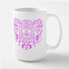 Day of the Dead Sugar Skull Large Mug