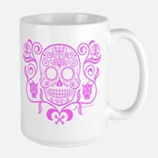 Day of the Dead Sugar Skull Mug