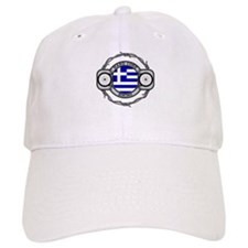 Greece Biking Baseball Cap
