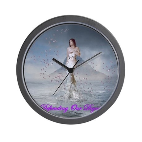 DOD Rising Venus Wall Clock