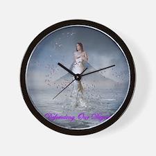 DOD Rising Venus Wall Clock