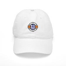 Greece Basketball Baseball Cap