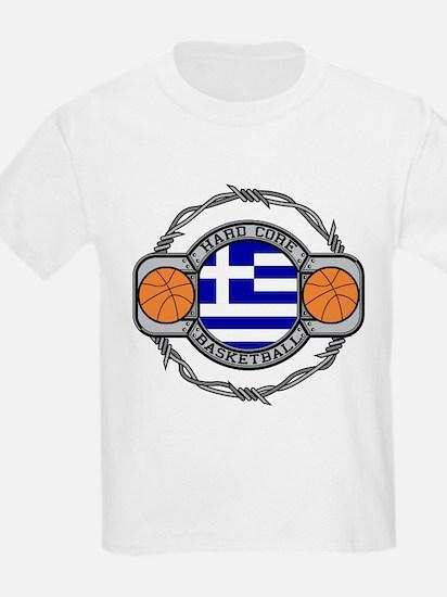 Greece Basketball T-Shirt