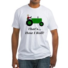 Green Tractor How I Roll Shirt