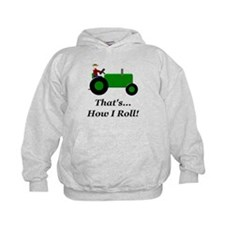 Green Tractor How I Roll Hoody