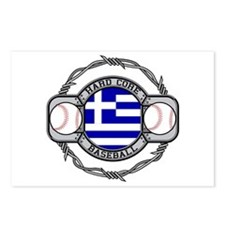 Greece Baseball Postcards (Package of 8)