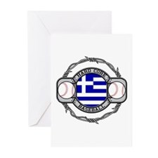 Greece Baseball Greeting Cards (Pk of 10)