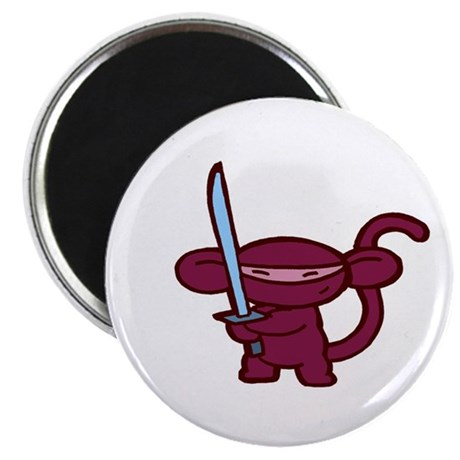 Red Ninja Minky Magnet