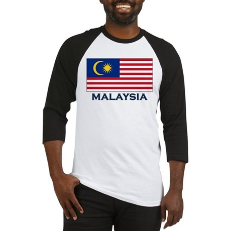 Flag of Malaysia Baseball Jersey