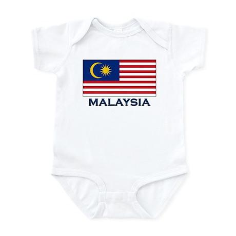 Flag of Malaysia Infant Bodysuit