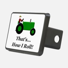 Green Tractor How I Roll Hitch Cover