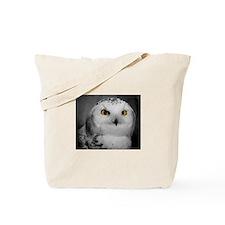 Unique Snowy owl Tote Bag