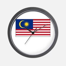 Malaysia Flag Picture Wall Clock