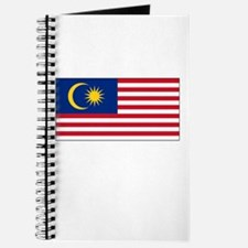Malaysia Flag Picture Journal