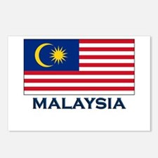 Malaysia Flag Gear Postcards (Package of 8)