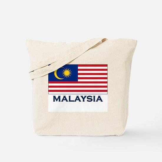 Malaysia Flag Gear Tote Bag