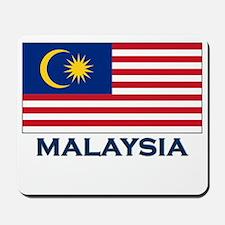 Malaysia Flag Gear Mousepad