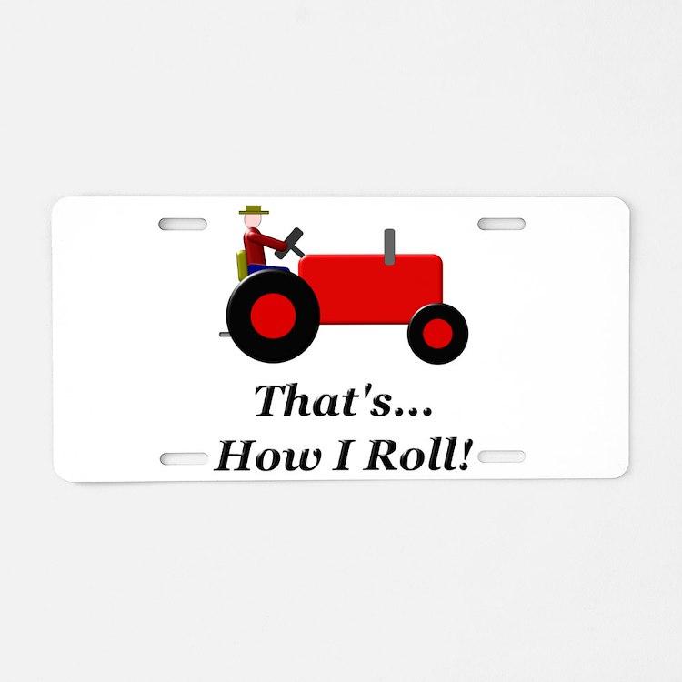 Tractor License Plates : Tractor license plates front plate