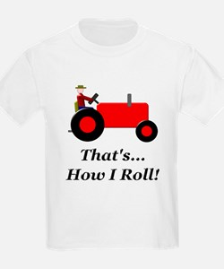 Red Tractor How I Roll T-Shirt