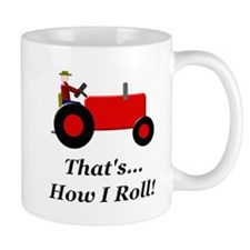 Red Tractor How I Roll Mug