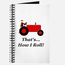 Red Tractor How I Roll Journal