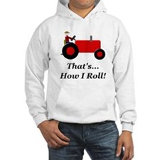 Red Tractor How I Roll Hoodie
