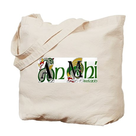 Meath Dragon (Gaelic) Tote Bag