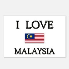 I Love Malaysia Postcards (Package of 8)