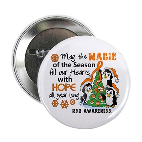 """Holiday Penguins RSD 2.25"""" Button"""