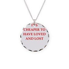 LOVED.png Necklace Circle Charm