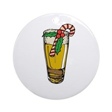 Christmas Ale Ornament (Round)
