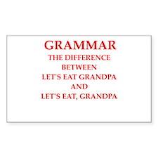 grammar Decal