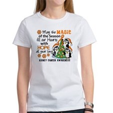Holiday Penguins Kidney Cancer Tee