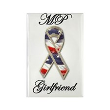 mp girlfriend Rectangle Magnet