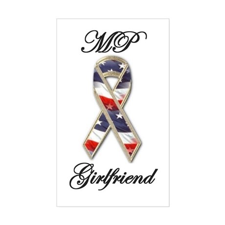 mp girlfriend Rectangle Sticker