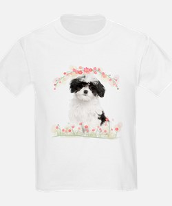 Havanese Flowers T-Shirt