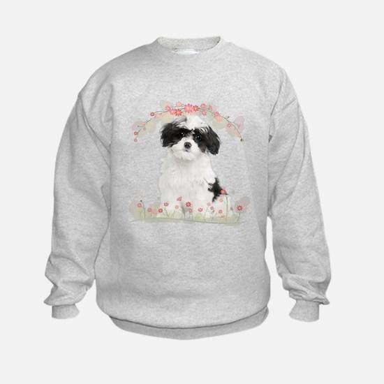 Havanese Flowers Sweatshirt