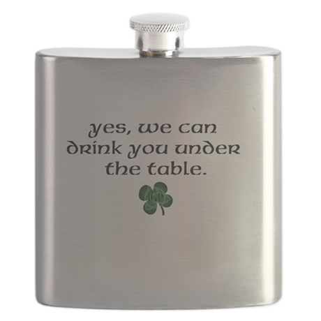 IGP Shamrock Flask