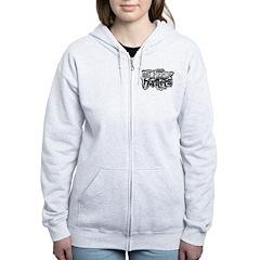 UUFOH grunge logo Zip Hoodie